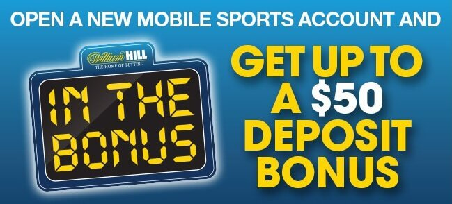 William Hill Nevada Promo Code