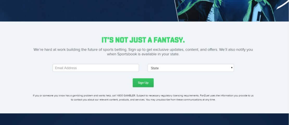 FANDUEL registration