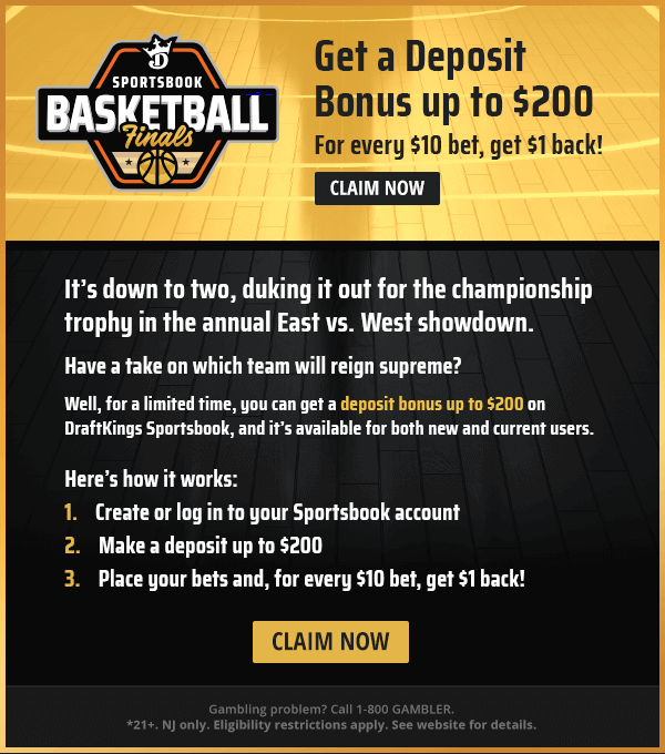 DraftKings NBA Finals Promotion