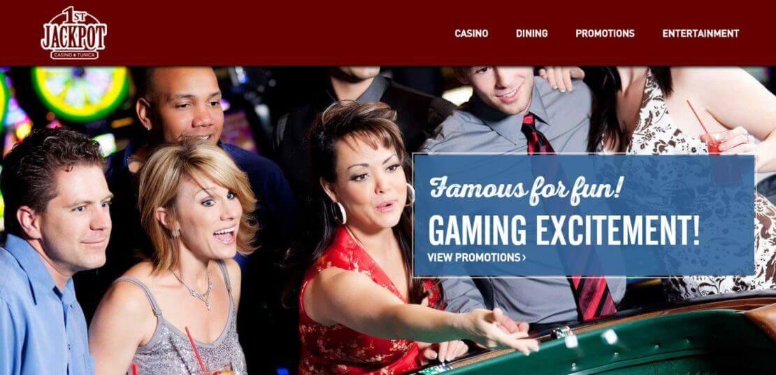 1st Jackpot webiste