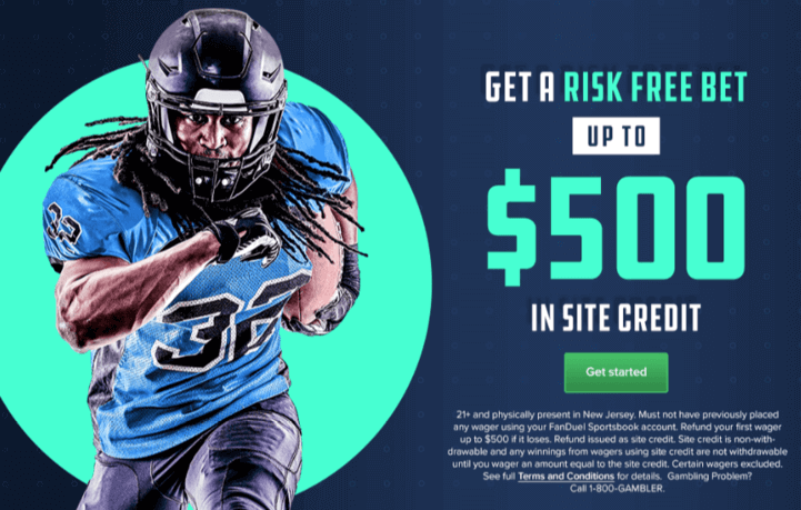 Fanduel sportsbook welcome bonus