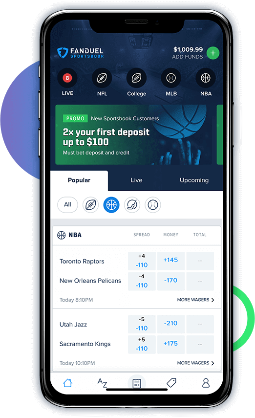 sports bet on fanduel app