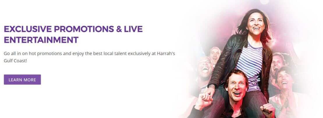 Welcome Bonus at Harrah's