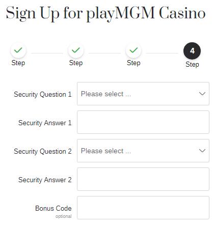MGM sportsbook bonus code