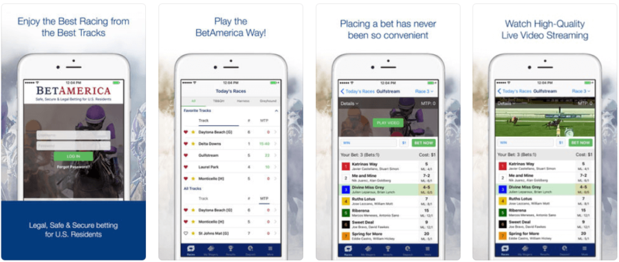 BetAmerica Horse Racing Betting App
