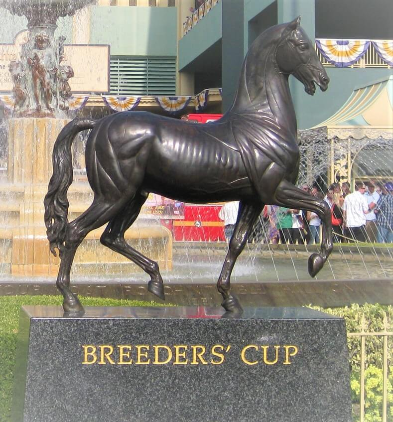 wager on the breeders' cup