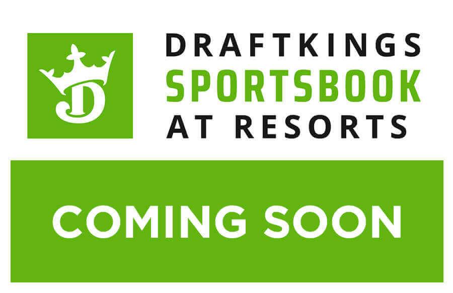 DraftKings sportsbook at Resorts coming Nov 20.