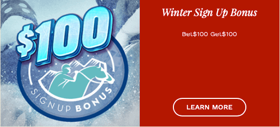 Hollywood Races Winter Sign Up Bonus