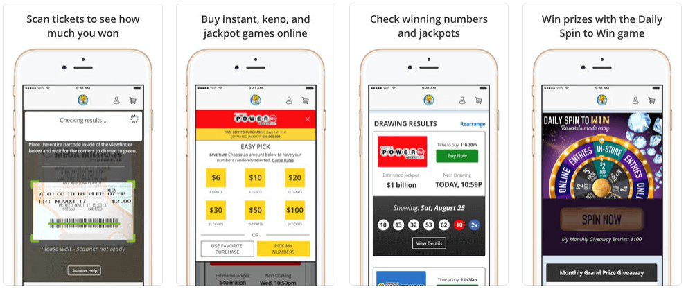 MI Lottery app