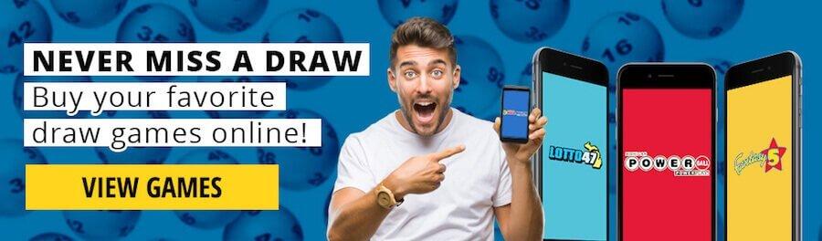 MI Lottery online promo code