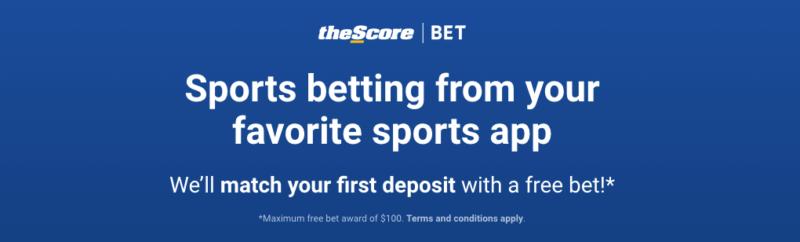 theScore Sportsbook promo code