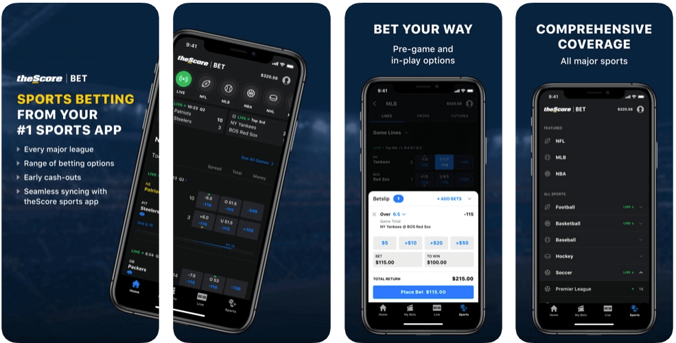 theScore Sportsbook App