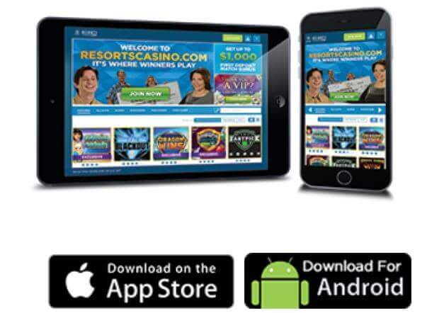 Download the Resorts Casino Mobile App
