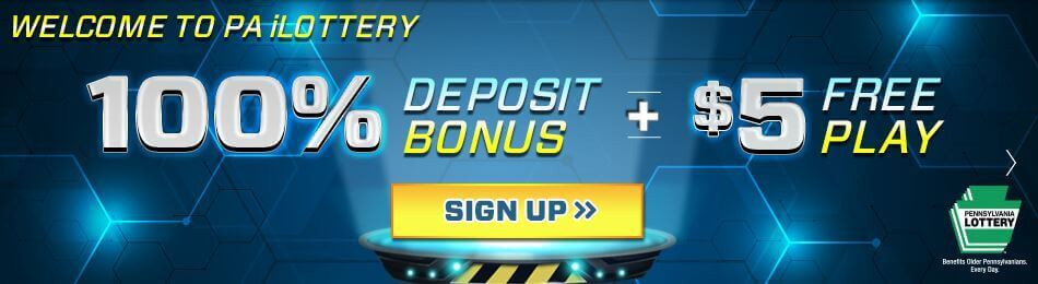 PA Lottery Deposit Bonus