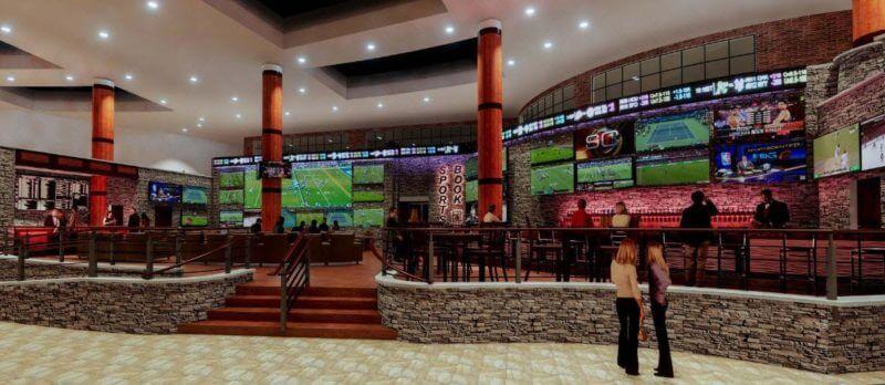 The Lounge with Caesars Sports at Turning Stone Resort Casino