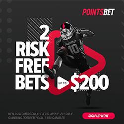PointsBet promo code Risk-Free bets