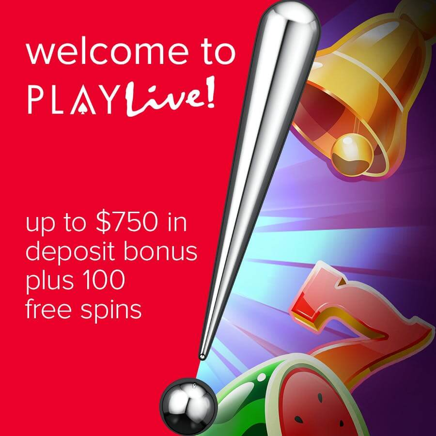 PlayLive! Welcome Bonus