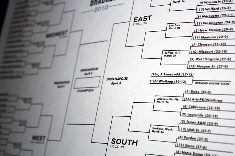 How to make a March Madness Bracket?