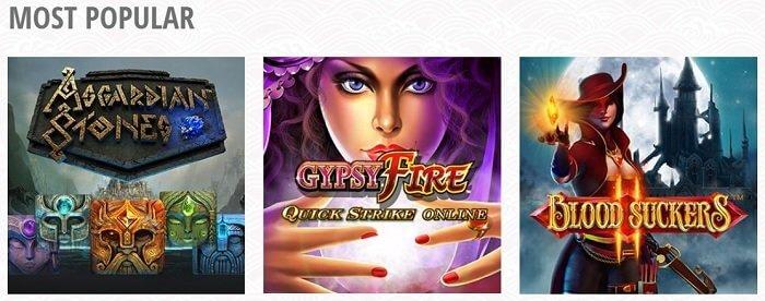 Ocean Casino Games