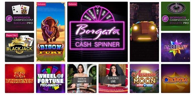 Borgata Casino Games