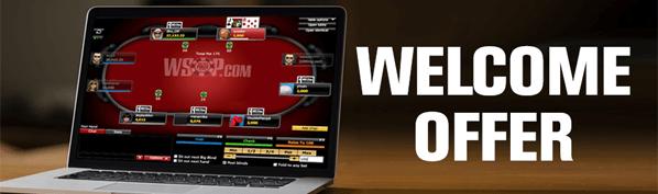 WSOP Welcome Bonus Offer