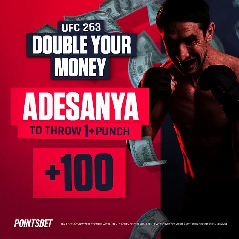 PointsBet UFC Offer