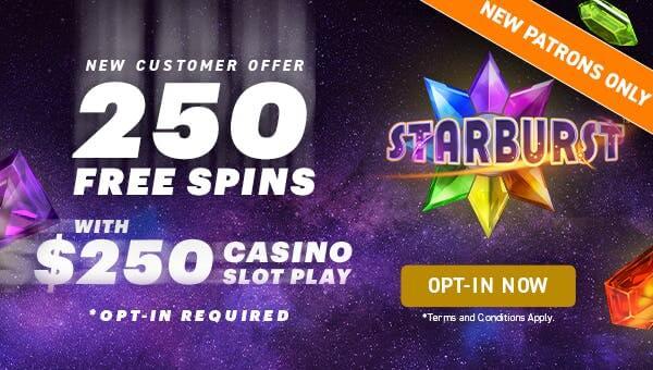 WynnBet Casino Starburst Promotion