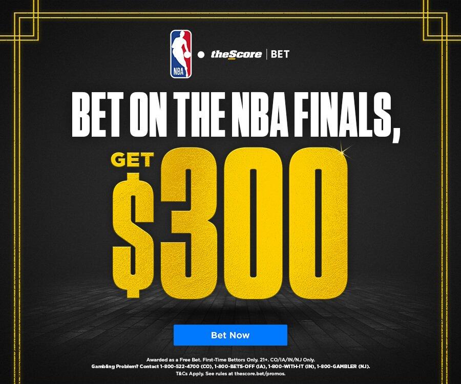 theScore Bet NBA Finals Bonus