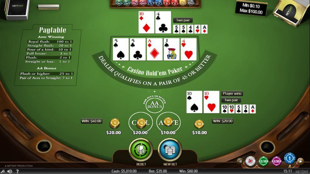 Caesars Casino Table Game