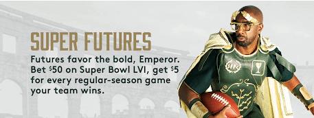 Super Futures Caesars Offer